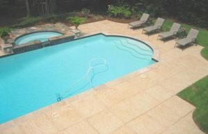 pool decks - concrete upgrades - concrete staining, stamping